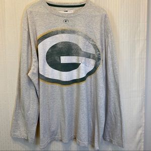 Green Bay Packers big G long sleeve pocket shirt